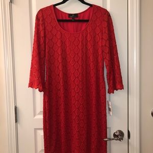 Ronni Nicolas Red Dress Women